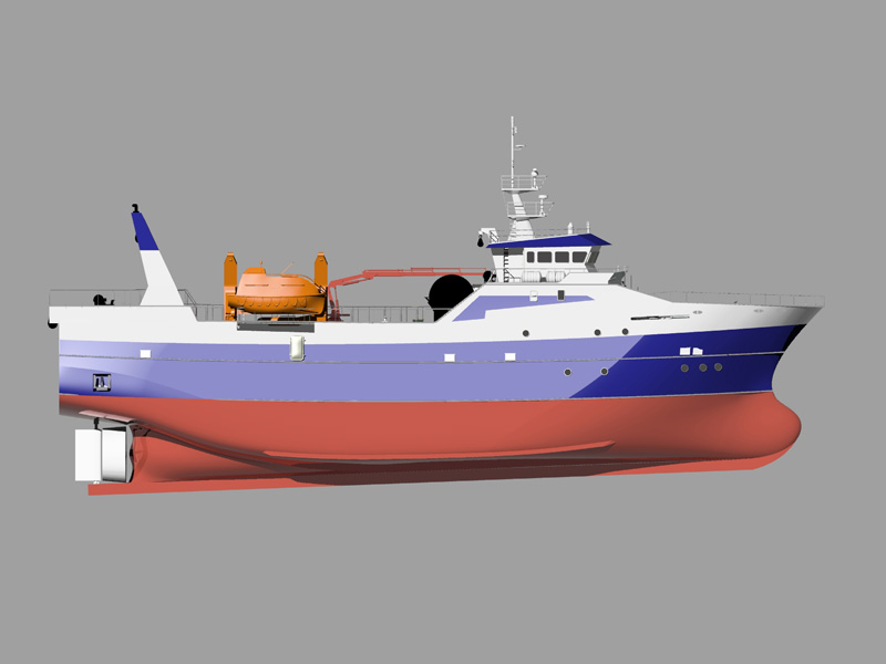Fishing trawler of 48 meters – Insenaval
